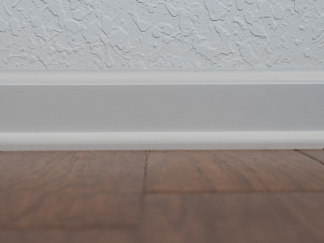 3.25 Inch Baseboard With Shoe Mold