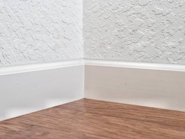 4.25 Inch Baseboard Inside Corner